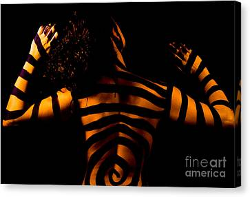 Canvas Print featuring the photograph Pw Sh004 by Kristen R Kennedy