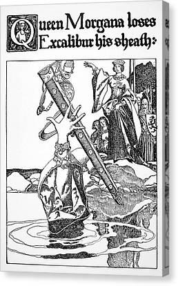 Pyle Morgan Le Fay Canvas Print by Granger