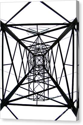 Pylon Canvas Print by Nina Ficur Feenan