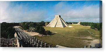 Pyramid Chichen Itza Mexico Canvas Print by Panoramic Images