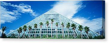Pyramid, Moody Gardens, Galveston Canvas Print by Panoramic Images