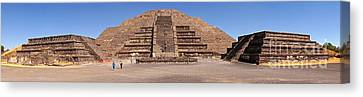 Pyramid Of The Moon Panorama Canvas Print by Sean Griffin