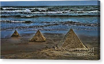 Pyramids Canvas Print by Jeff Breiman