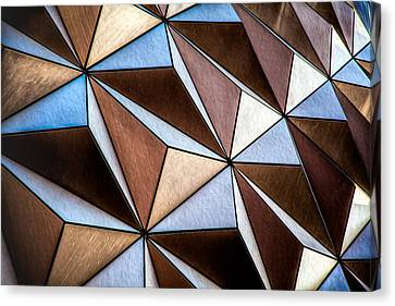 Canvas Print featuring the photograph Pyramids  by Joshua Minso