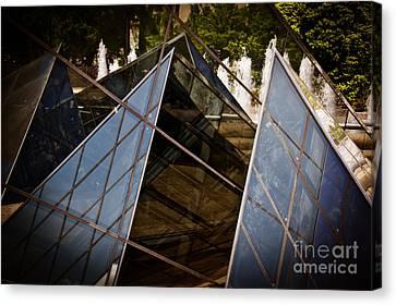 Pyramids Reflected Canvas Print by Tom Gari Gallery-Three-Photography