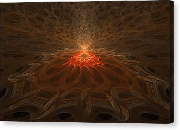 Pyre Canvas Print