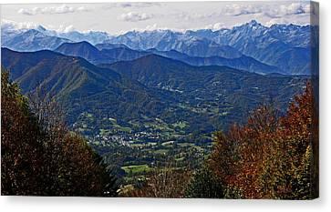 Pyrenean View Canvas Print by John Topman