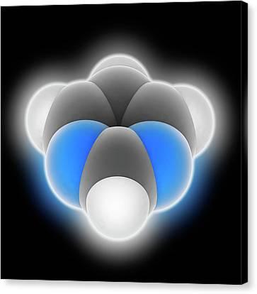 Pyrimidine Molecule Canvas Print