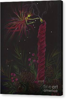 Pyromancy Canvas Print by Dawn Fairies