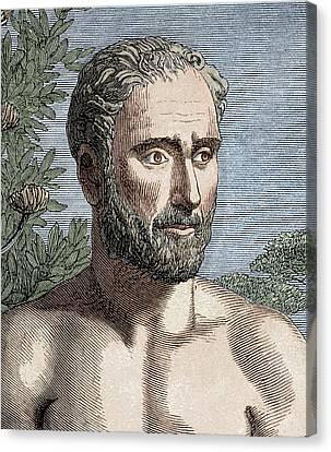 Pythagoras Of Samos Canvas Print