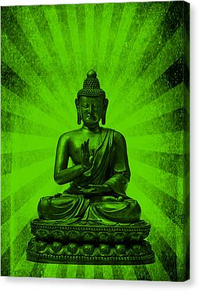 Michelle Canvas Print - Q Buddha by Michelle Dallocchio