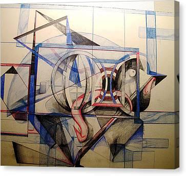 Q Canvas Print