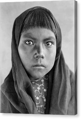 Indigenous Canvas Print - Qahatika Child by Aged Pixel