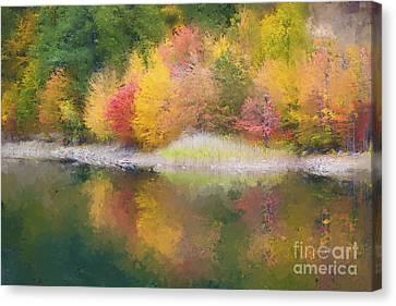 Quabbin Reservoir Fall 2014 Canvas Print