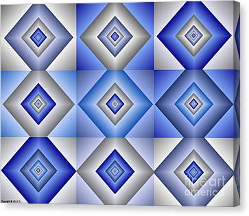 Quadrant  3 Canvas Print