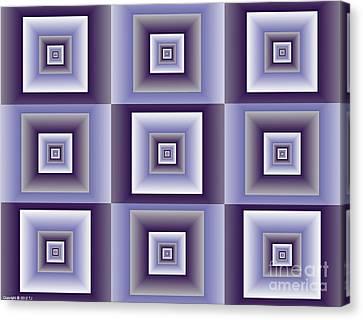 Quadrant  4 Canvas Print