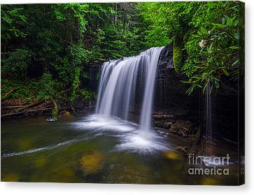 Quadrule Falls Summer Canvas Print