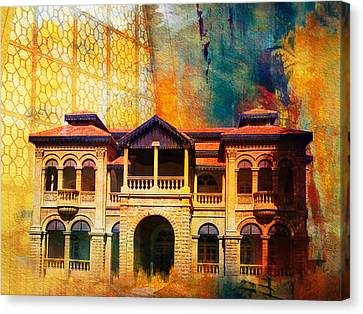 Quaid -e Azam House Flag Staff House Canvas Print by Catf