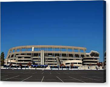 San Diego California Baseball Stadiums Canvas Print - Qualcomm Stadium by See My  Photos