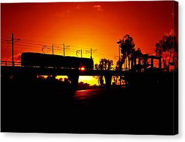San Diego California Baseball Stadiums Canvas Print - Qualcomm Station by See My  Photos