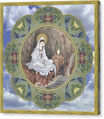 Quan Yin Celestial Blessings Canvas Print