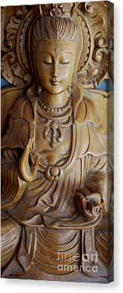 Quan Yin Compassion Canvas Print by Dorothy Berry-Lound