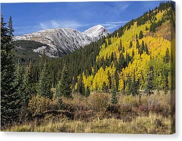 Quandary Peak Canvas Print by Aaron Spong