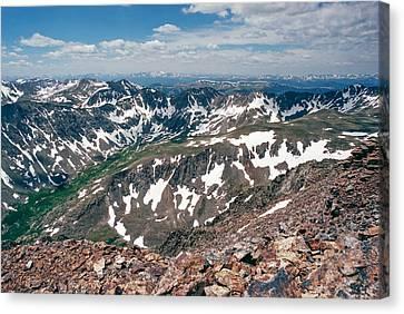 Quandry Peak 14264 Canvas Print