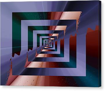 Quantum Conundrum Canvas Print by Tim Allen