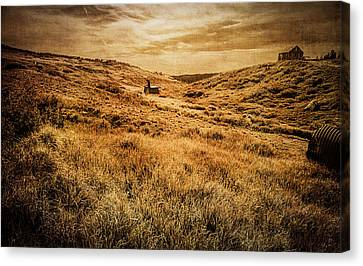 Old School Houses Canvas Print - Quartz Mountain 27 by YoPedro