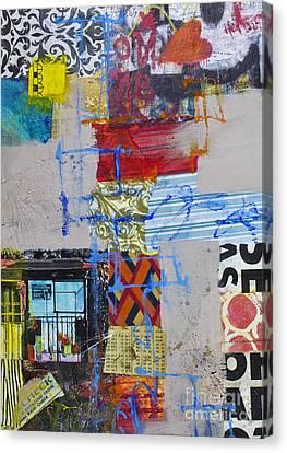 Quater After Clockwork Canvas Print