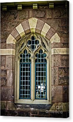 Quatrefoil Window Canvas Print by Colleen Kammerer