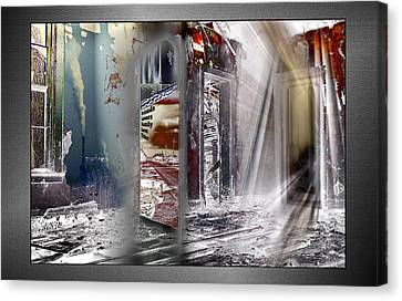 Canvas Print featuring the photograph Que Sera Sera by Thomas Bomstad