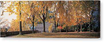Quebec City Quebec Canada Canvas Print by Panoramic Images