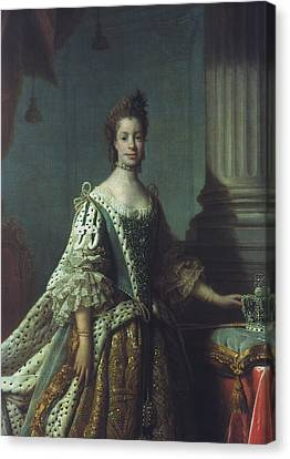 Queen Charlotte (1744-1818) Canvas Print by Granger