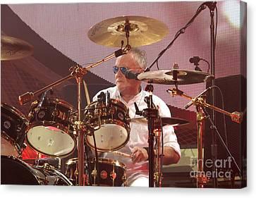 Queen Canvas Print - Queen Drummer Roger Taylor by Concert Photos