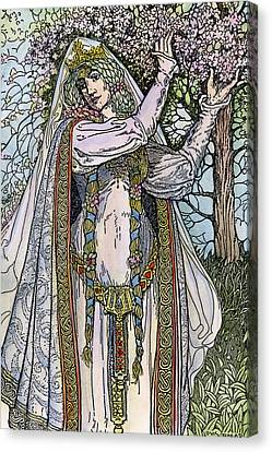 Queen Guinevere, 1923 Canvas Print by Granger