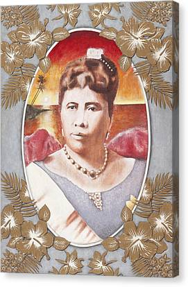 Queen Lili'uokalani Canvas Print by Alan Fine