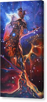 Queen Nebula 1 Canvas Print by Toni Wolf