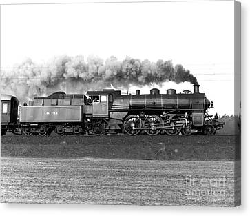 Queen Of Steam Canvas Print by Joachim Kraus