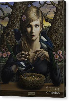 Queen Of Thieves Canvas Print