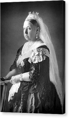 1890 Canvas Print - Queen Victoria by Unknown