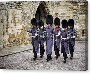 Queens Guard Canvas Print by Heather Applegate