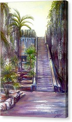 Queen's Staircase Canvas Print