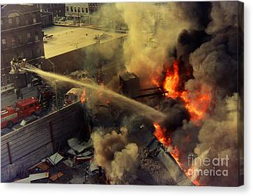 Queens Third Alarm Canvas Print by Steven Spak