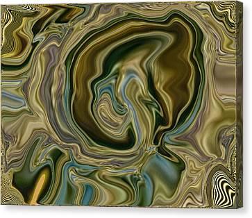 Querying Quetzlcoatl Canvas Print