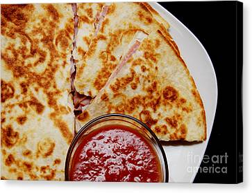Quesadilla Canvas Print by Andee Design