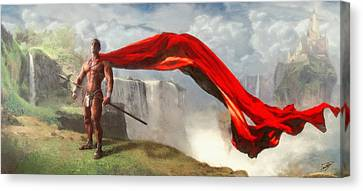 Dawid Canvas Print - Qui Vive by Marcin and Dawid Witukiewicz