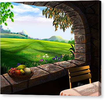 Quiet Corner Canvas Print
