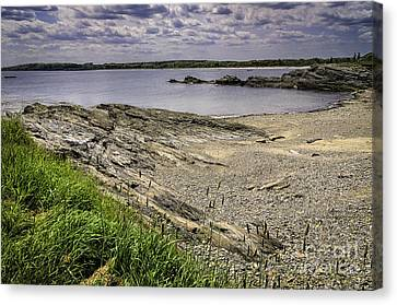 Canvas Print featuring the photograph Quiet Cove by Mark Myhaver